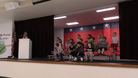 Thumbnail for entry Wild Peach Elementary Awards 5.24.2021 - 1st Grade Schuerg