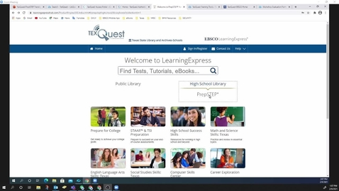 Thumbnail for entry TEX Quest ESC-12 EBSCO 2.9.2021
