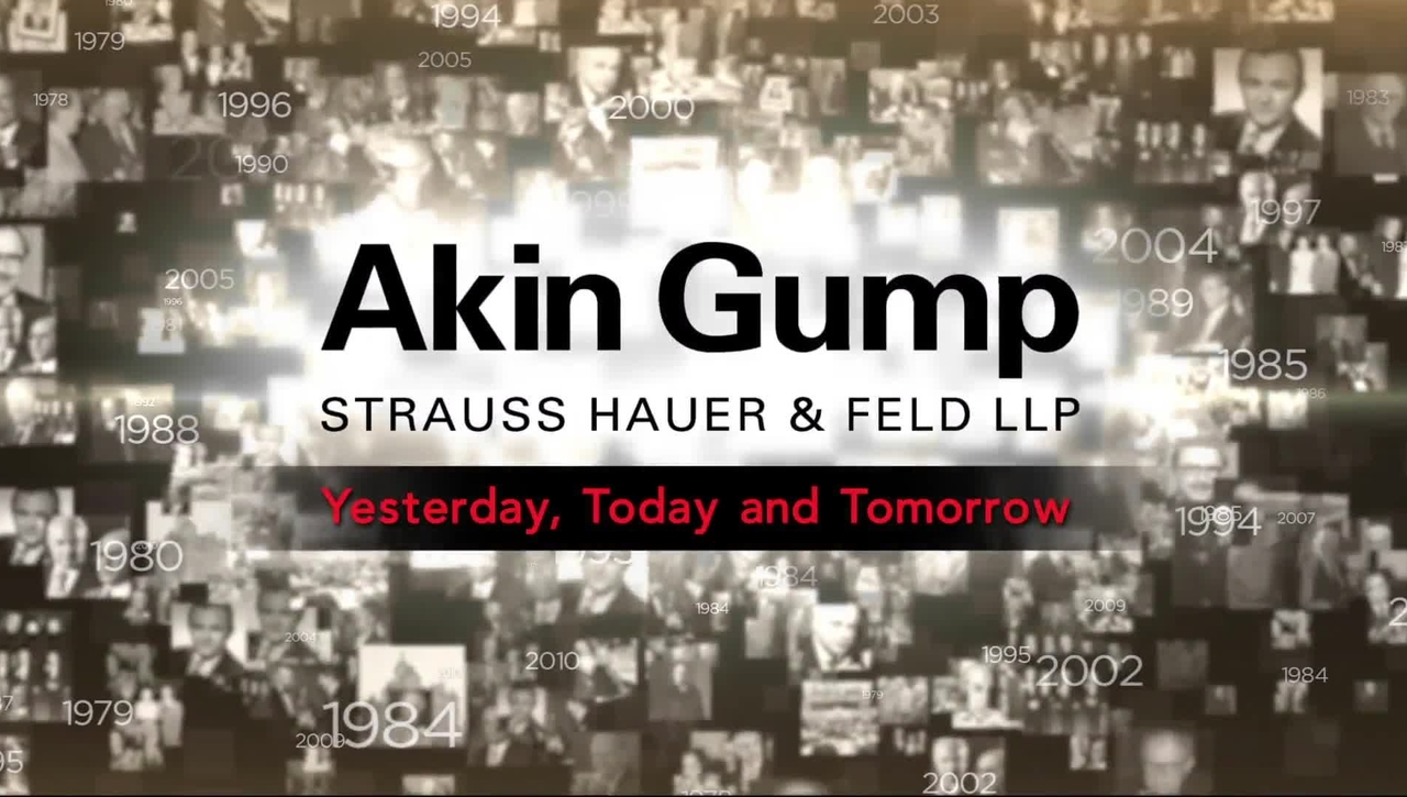 Akin Gump History