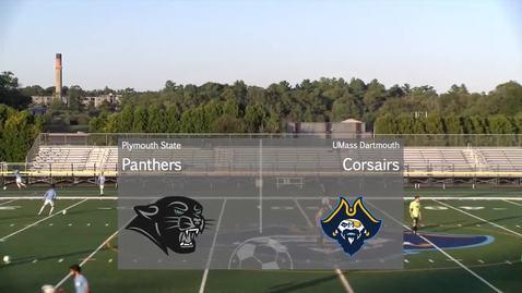Thumbnail for entry Men's Soccer at Umass Dartmouth 9-28-19