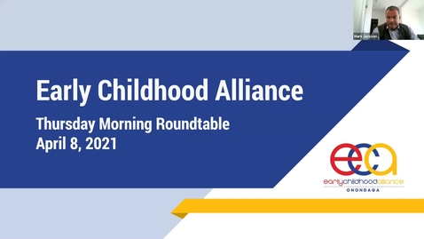 Thumbnail for entry Thursday Morning Roundtable: Early Childhood Alliance