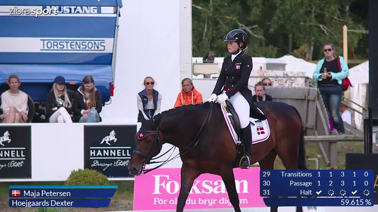 2nd part of U25 Grand Prix at Falsterbo Horse Show 2017