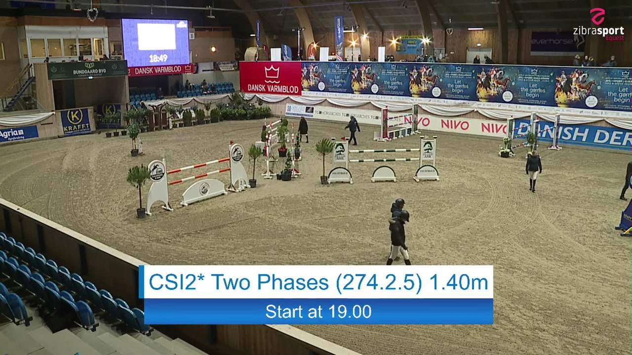 Se CSI2* Two Phases 1.40m ved Danish Derbys internationale springstævne på Vilhelmsborg 2020