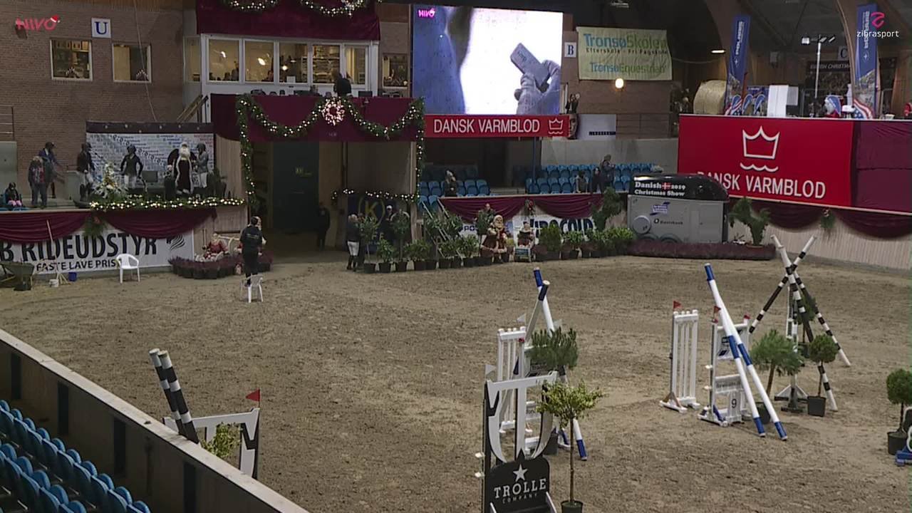 AB RIDEUDSTYR – Brass Tour 1st qualifier (105 cm) at Christmas Show Warm Up Horse 2019
