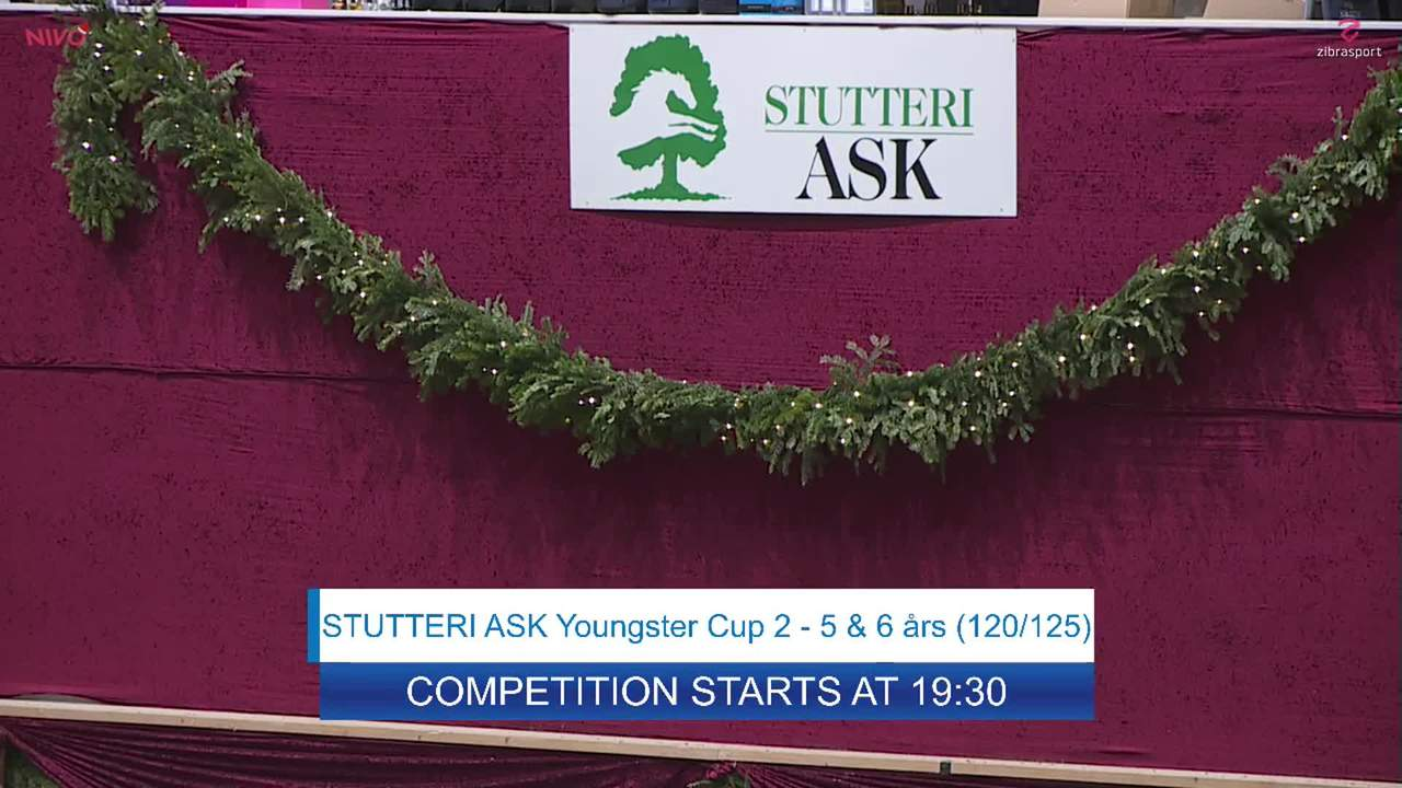 Youngster Cup 2 for 5 yr-old horses at Danish Christmas Show 2019