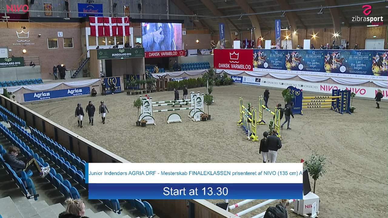 Junior final (135 cm) at the DRF jumping championship at Vilhelmsborg 2020