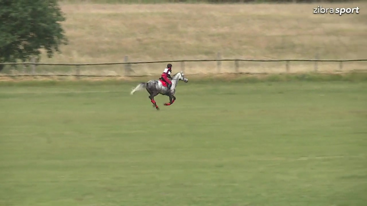CNC80 Cross-country at DRF championships in eventing 2018