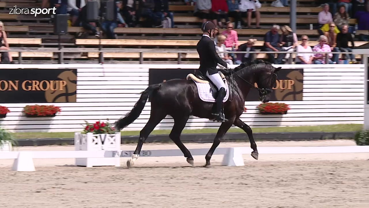 4 year final at Falsterbo Horse Show 2017