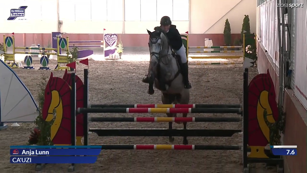 LA2* (1,20 m) fra Riders Cup 2018