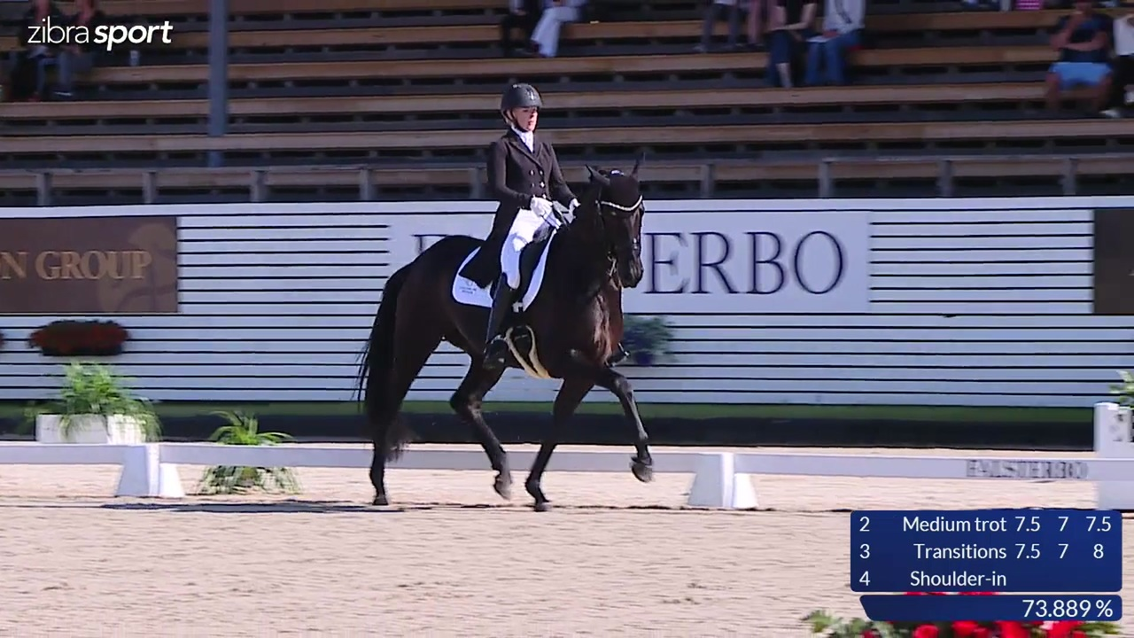 Trikem 7 year young horse championship at Falsterbo Horse Show 2017