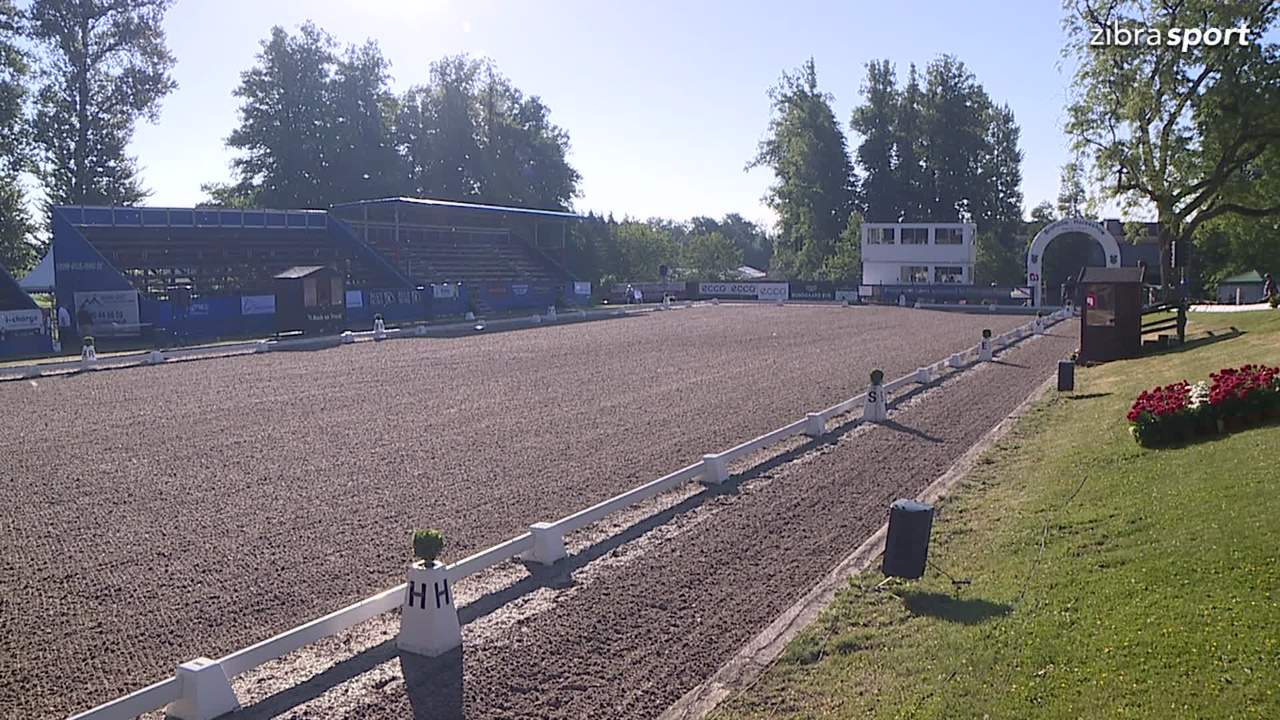 1st part of Prix St. George at Broholm Horseshow 2018