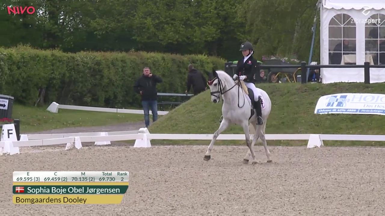 Se CDIP Pony Individual Competition klassen fra Aalborg Dressage Event 2019