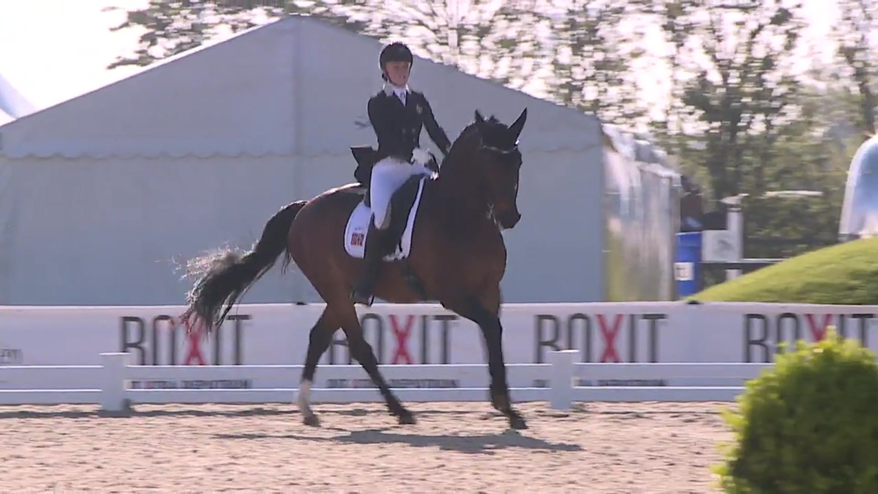 Young Rider Nations Cup kür at Equitour Aalborg 2019