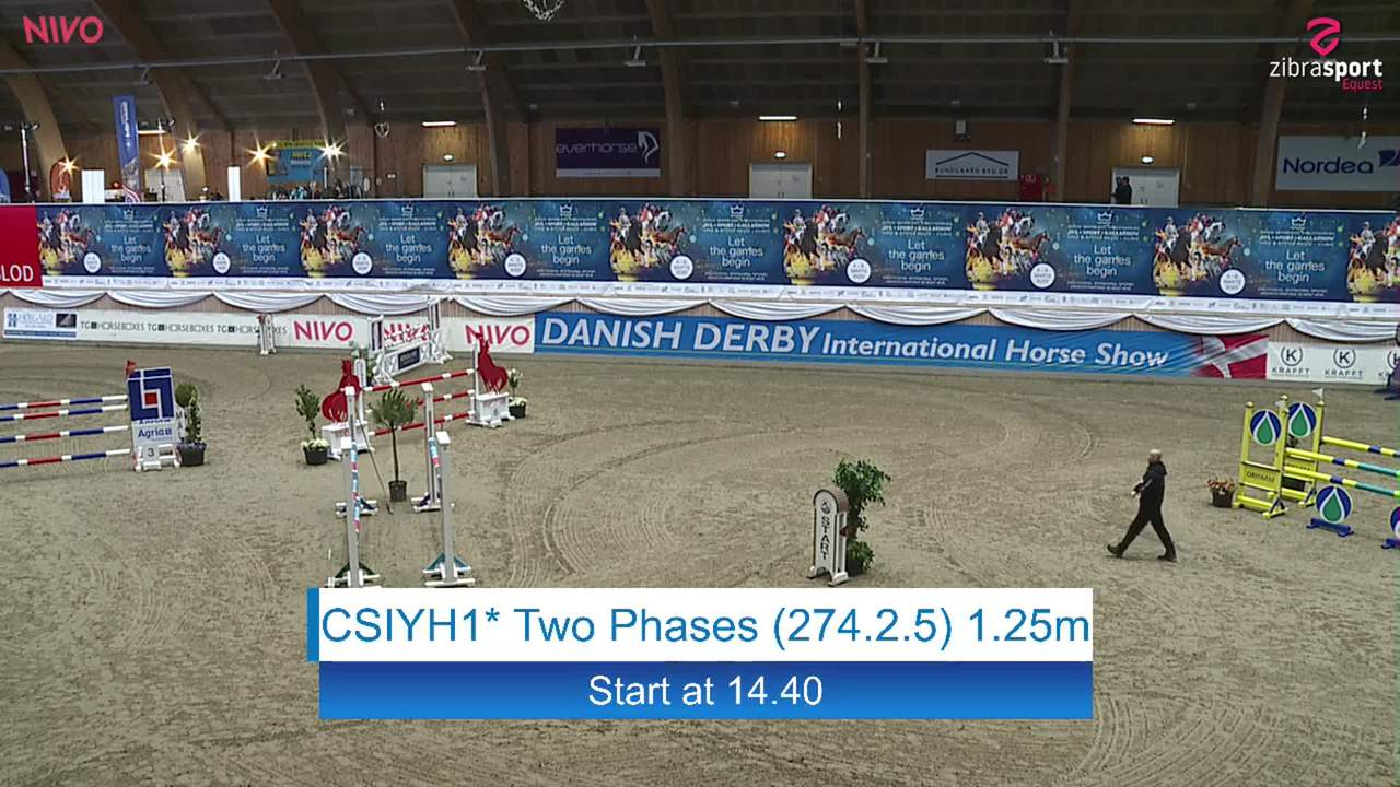 Se CSIYH1* Two Phases 1.25m ved Danish Derbys internationale springstævne på Vilhelmsborg 2020
