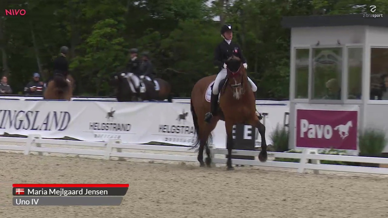 Junior Nations Cup Freestyle to Music at Equitour Aalborg 2019