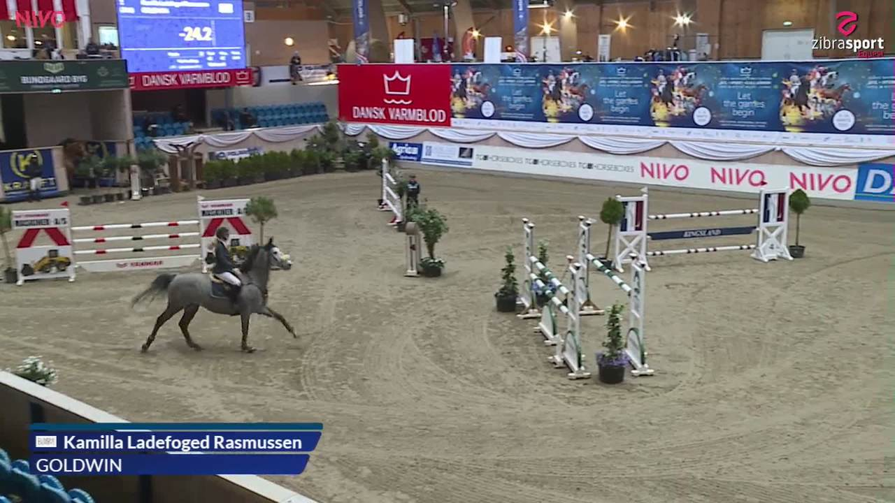 Silver Tour MB2 (130 cm) at the DRF jumping championship at Vilhelmsborg 2020