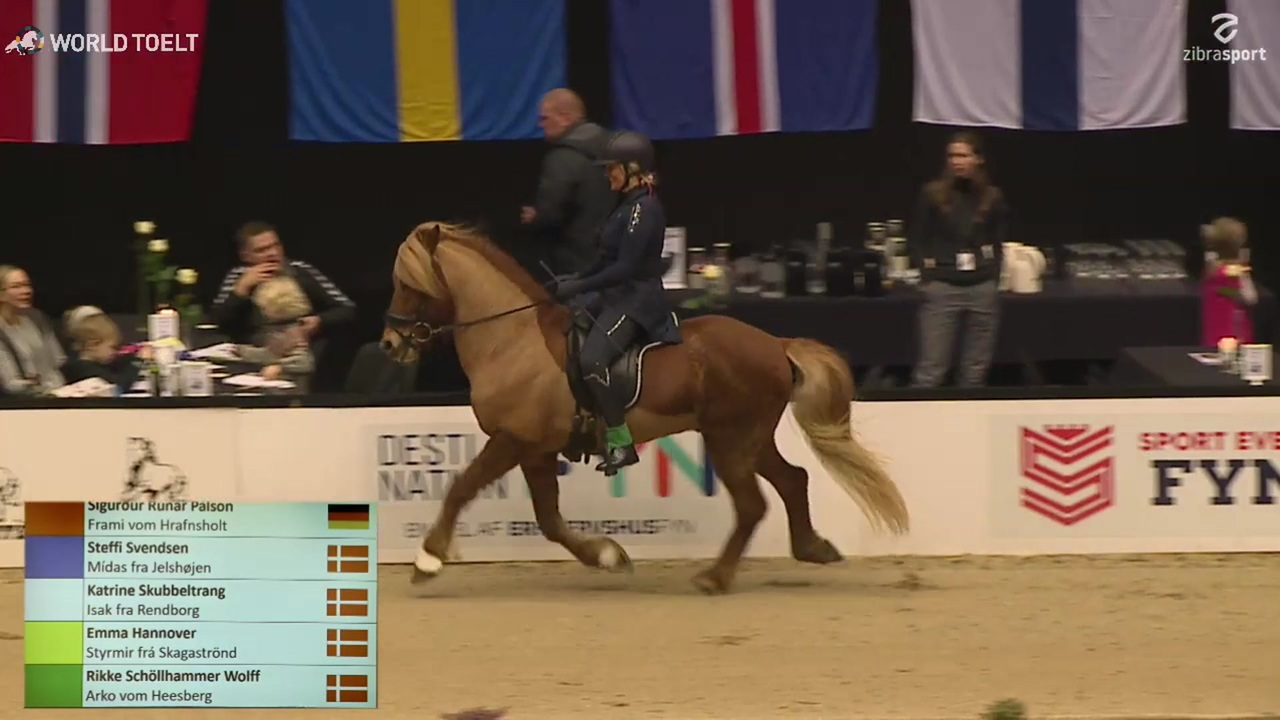 B-final from World Toelt in Odense