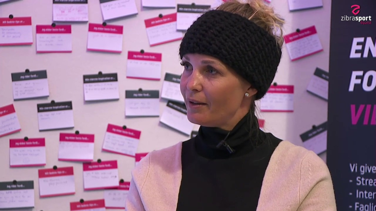 Interview with Tina Lund at the stallion show in Herning 2020