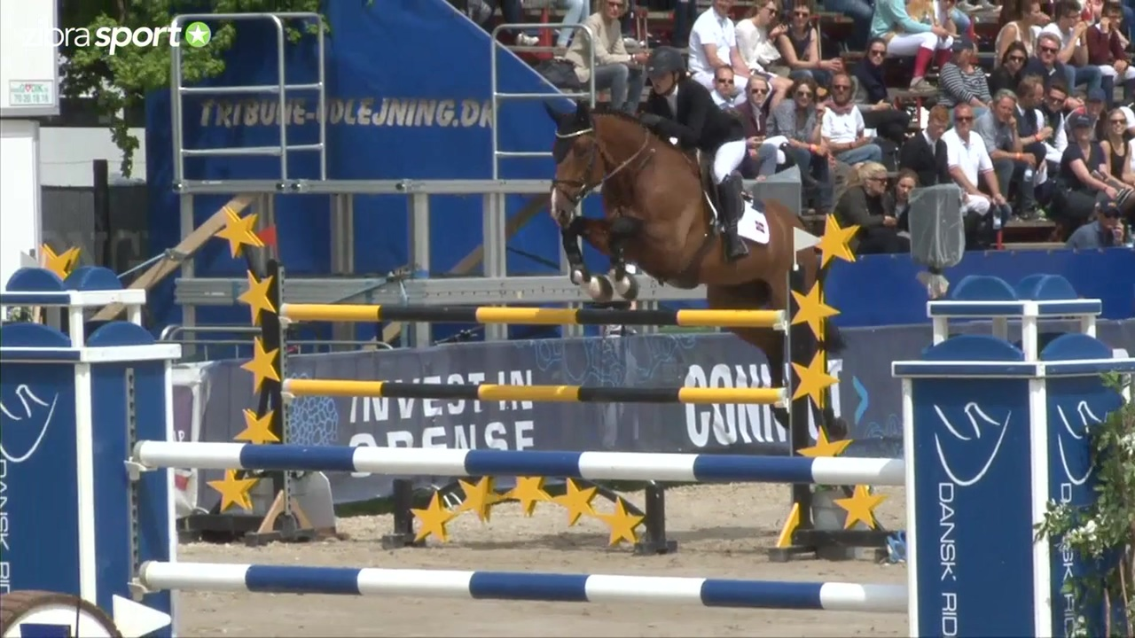 Young Rider Grand Prix Jump off (1.45m) at Odense Horse Festival 2016