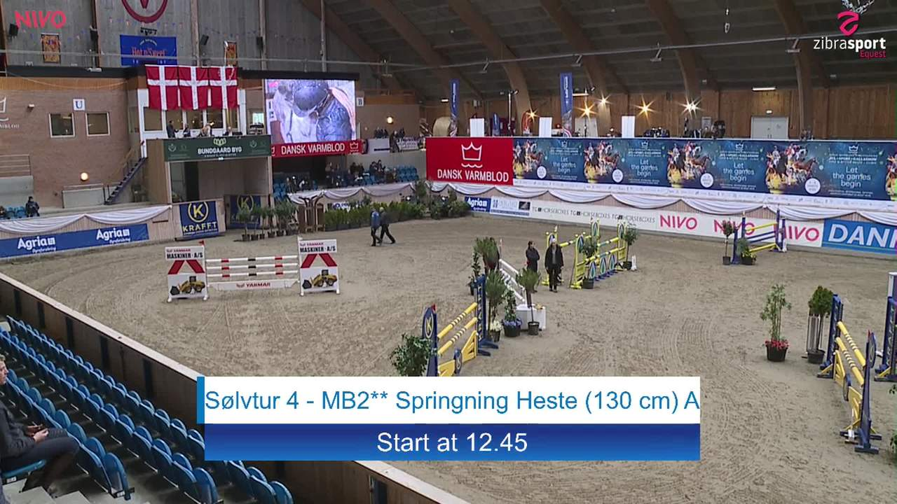 Silver tour 4 – MB2** jumping (130 cm) at the DRF jumping championship at Vilhelmsborg 2020