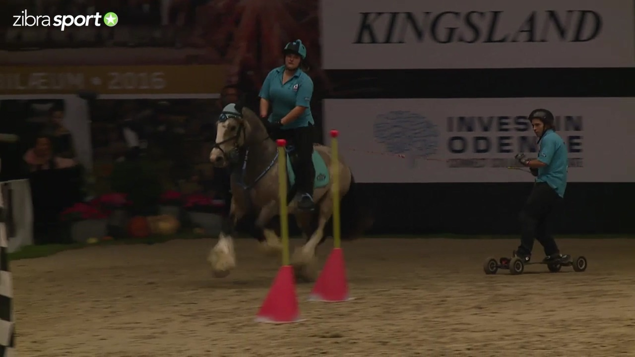 Horseboarding competition at Odense Horse Show 2016