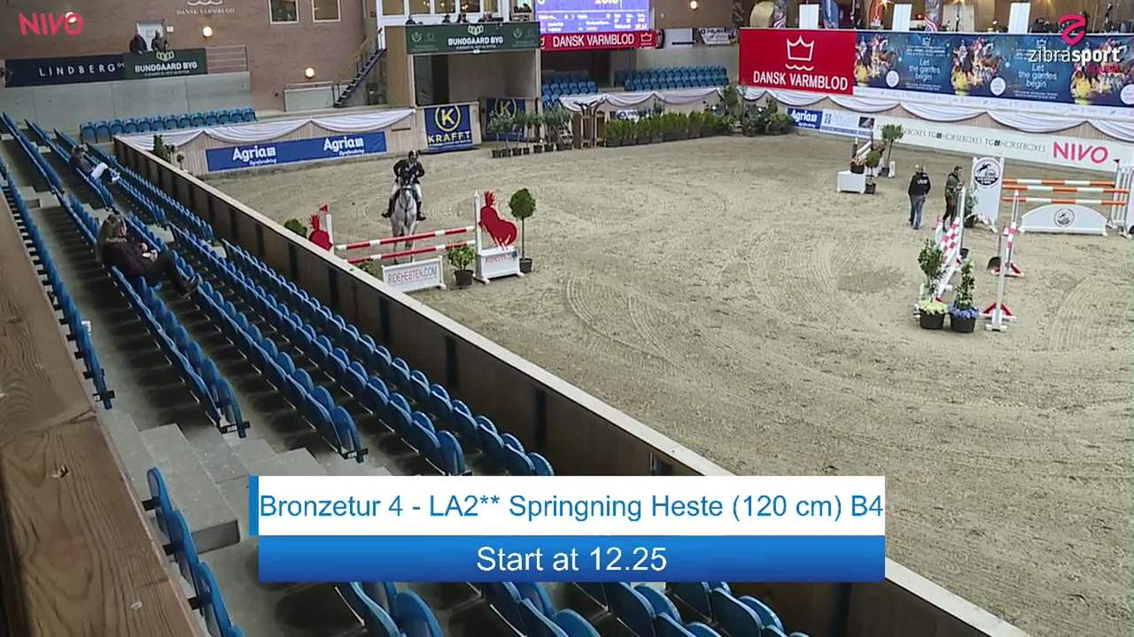 Second part of Bronze tour 4 – LA2** jumping (120 cm) at the DRF jumping championship at Vilhelmsborg 2020