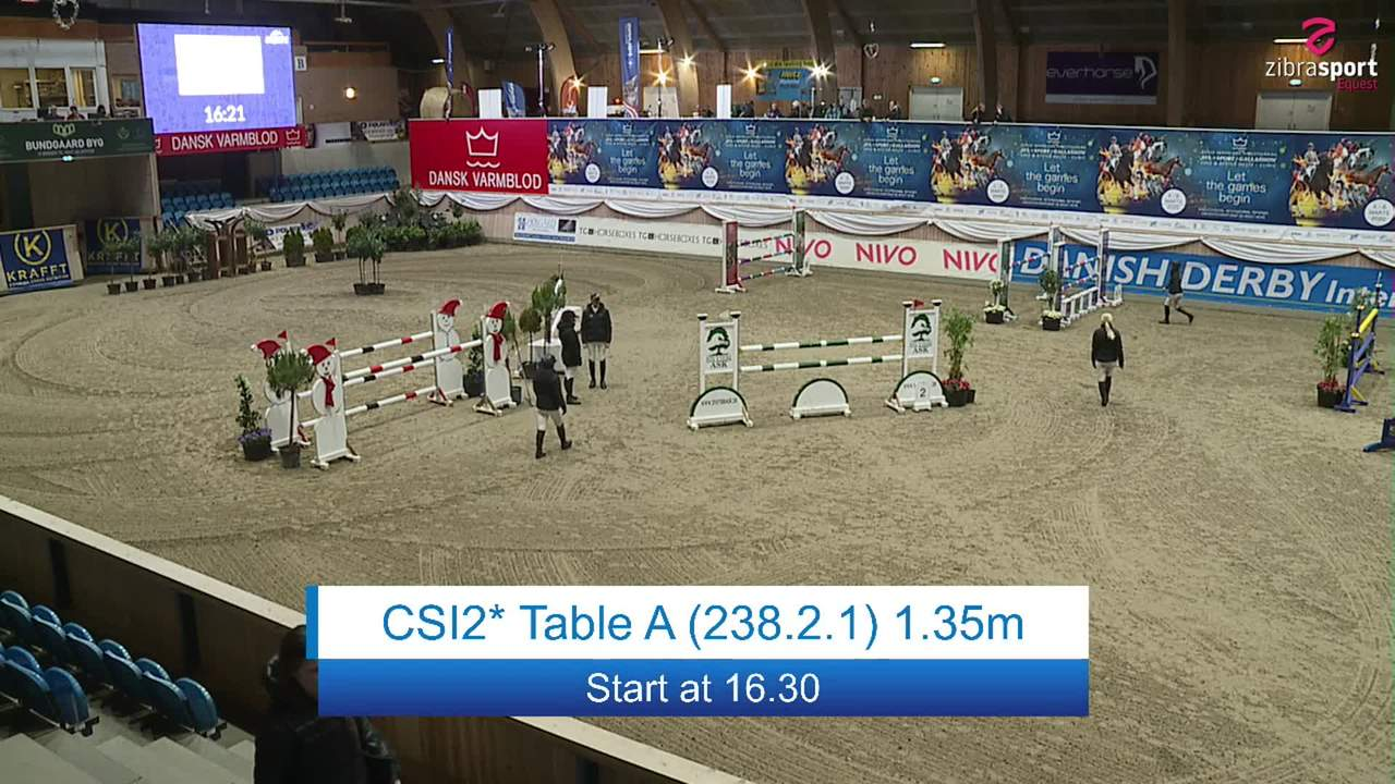 Se CSI2* Table A 1.35m ved Danish Derbys internationale springstævne på Vilhelmsborg 2020