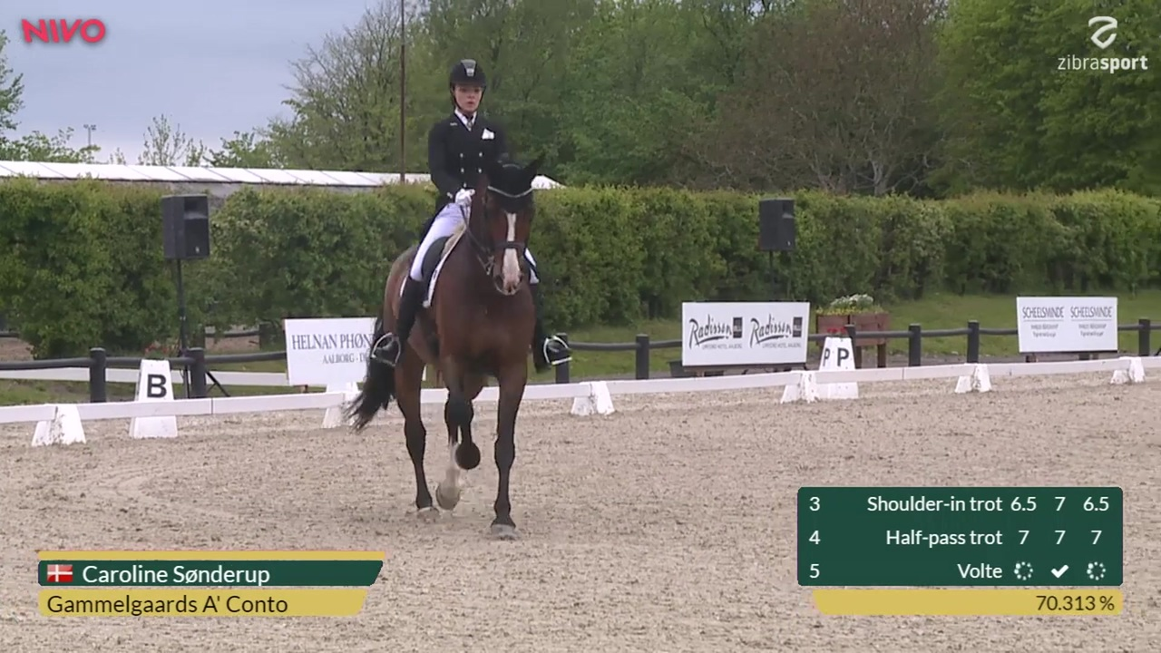 CDIY Young Riders Individual Competition at Aalborg Dressage Event 2019