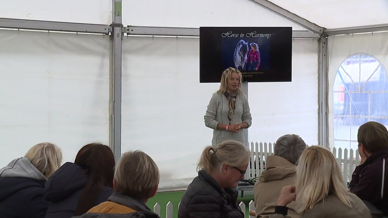 Clinic about horse signals at Store Hestedag 2019