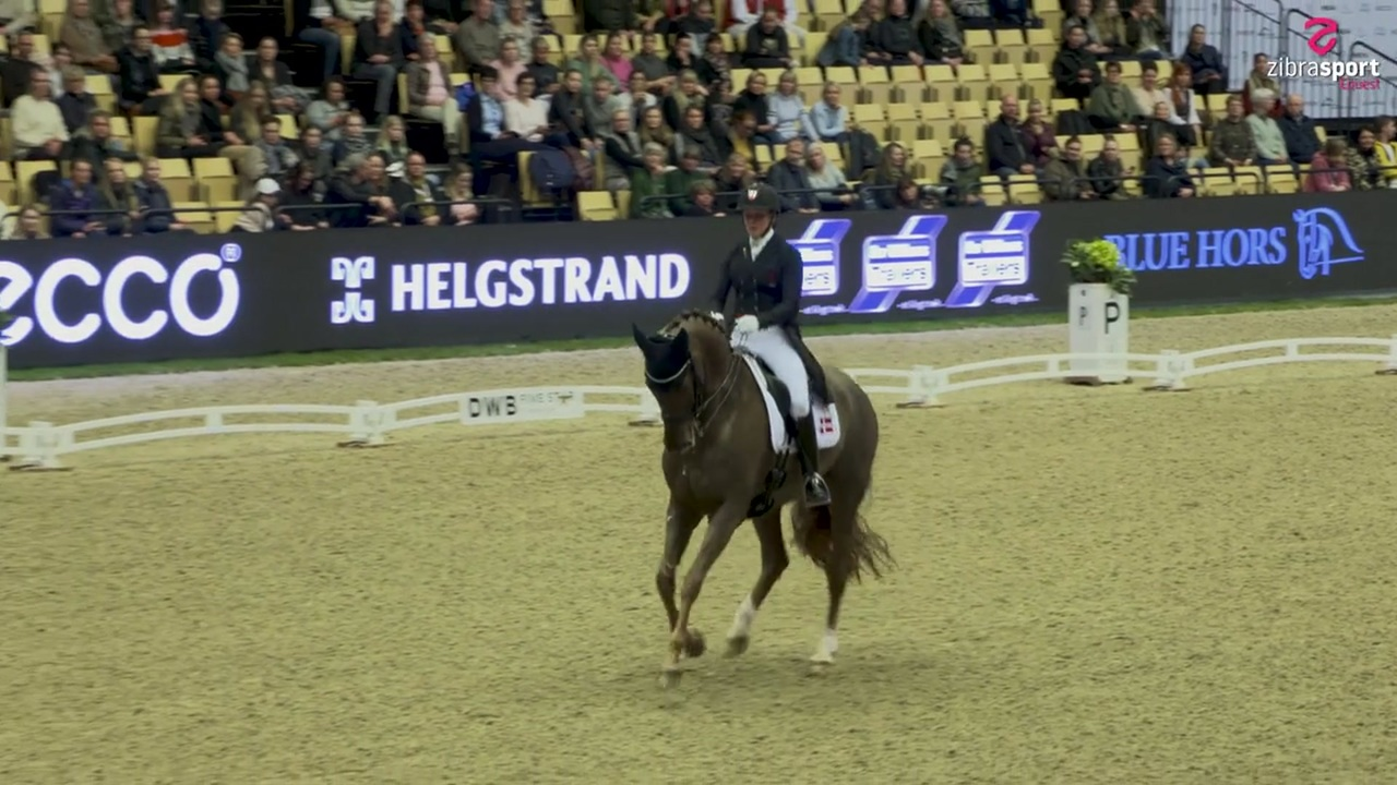 Cathrine Dufour and Bohemian win CDI5* Grand Prix at the stallion show in Herning 2020