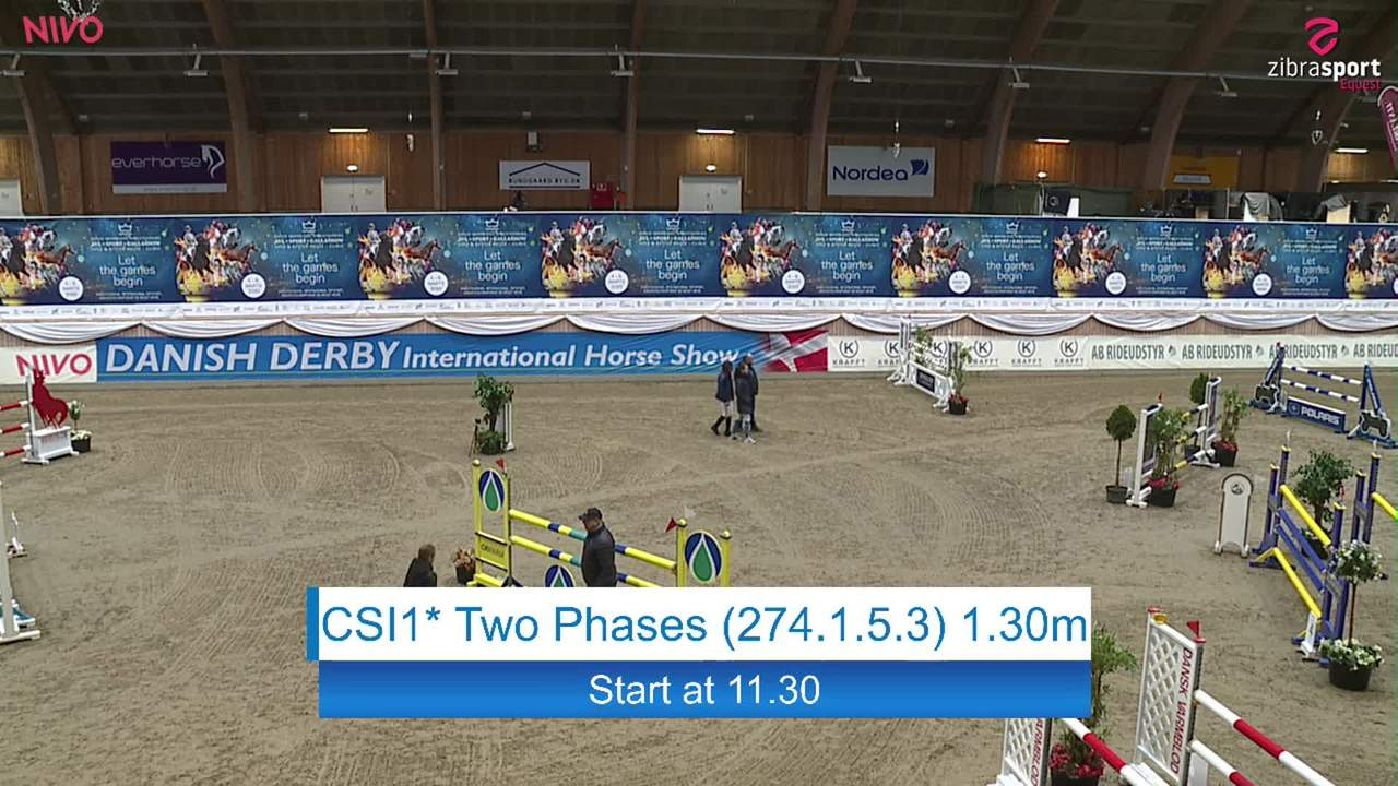 Se CSI1* Two Phases 1.30m ved Danish Derbys internationale springstævne på Vilhelmsborg 2020