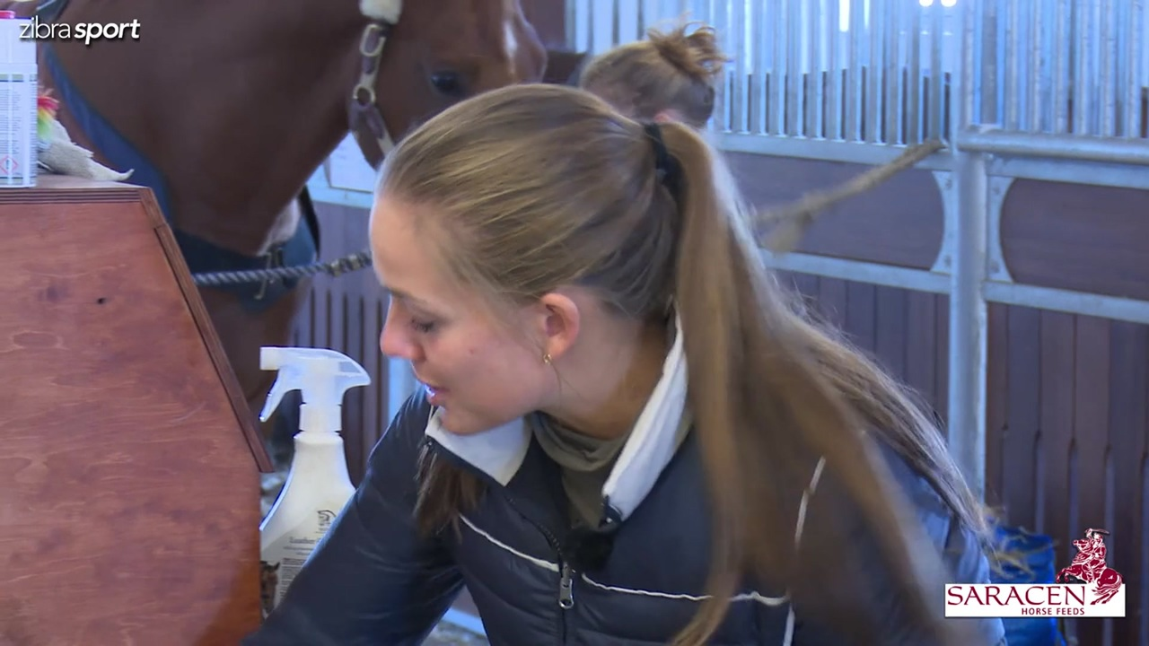 The way to World Cup Herning: Cathrine Dufour