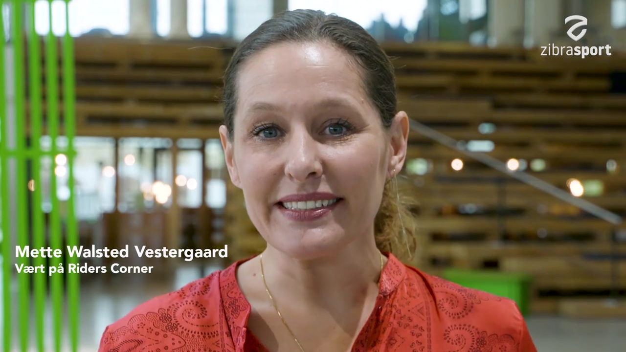 TV hostess, journalist, communications advisor and rider Mette Walsted Vestergaard is the new hostess of Riders Corner which can be seen on ZibrasportEquest during some of the biggest riding events in both Denmark and Sweden