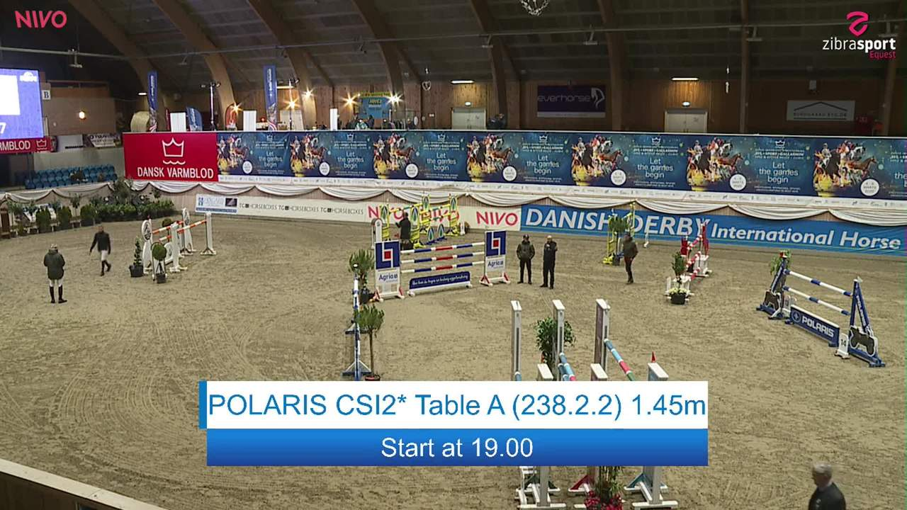 Se POLARIS CSI2* Table A 1.45m ved Danish Derbys internationale springstævne på Vilhelmsborg 2020