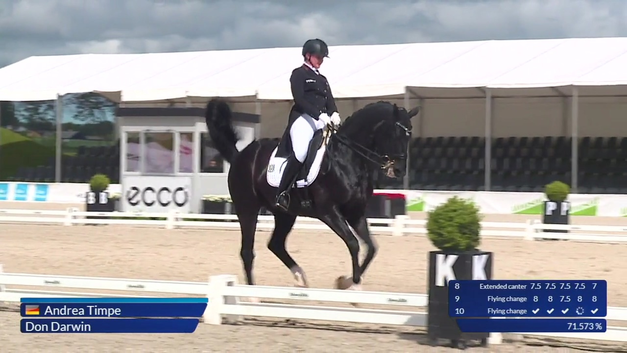 FEI Dressage Nations Cup Freestyle at Equitour Aalborg 2019