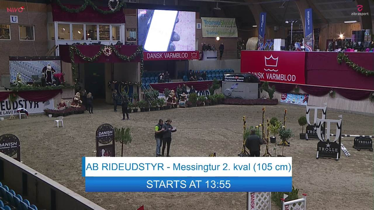 AB RIDEUDSTYR Messingtur 2. kval. (105 cm) ved Christmas Show Warm Up for hest 2019