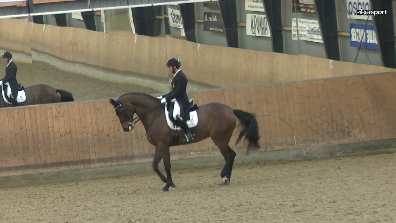 2nd part of the Grand Prix at the Danish national dressage event at Esbjerg og Omegns Rideklub 2019