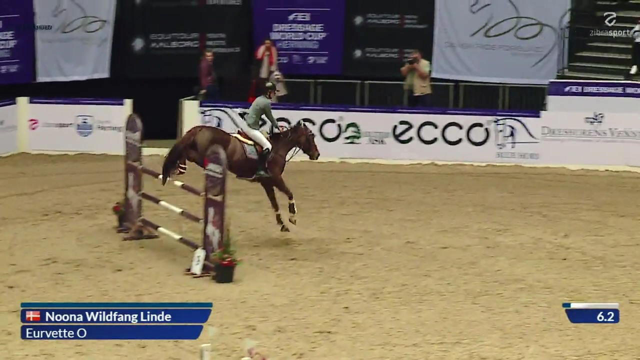 CSI-Junior presented by Dansk Varmblod (1,30 m) ved World Cup Herning 2019