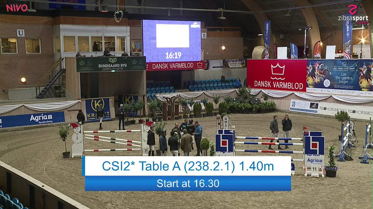 Se CSI2* Table A 1.40m ved Danish Derbys internationale springstævne på Vilhelmsborg 2020