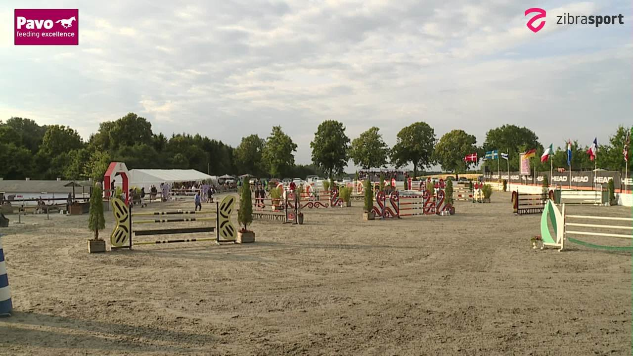 1. part of the Jumping Team Championships at Riders Cup Horses