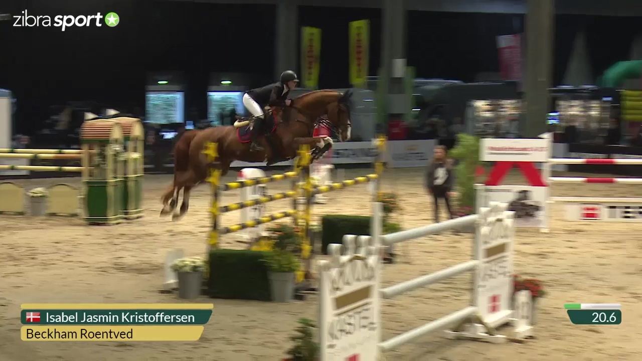 1st part of DRF CSI1* Grand Prix 1.40m at Odense Horse Show 2016