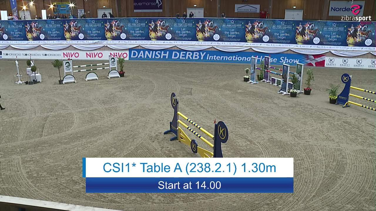 Se CSI1* Table A 1.30m ved Danish Derbys internationale springstævne på Vilhelmsborg 2020
