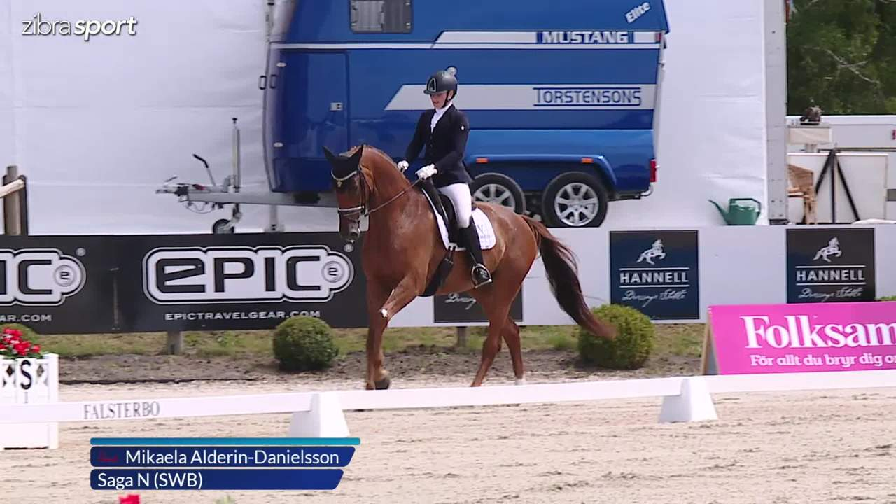 3rd part of the 6 year semi final at Falsterbo Horse Show 2017