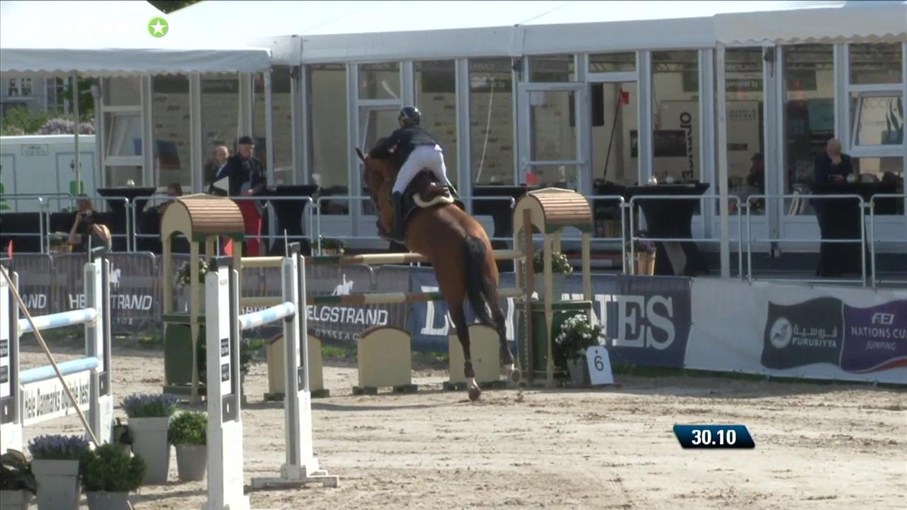 Junior Grand Prix (1.40m) at Odense Horse Festival 2016