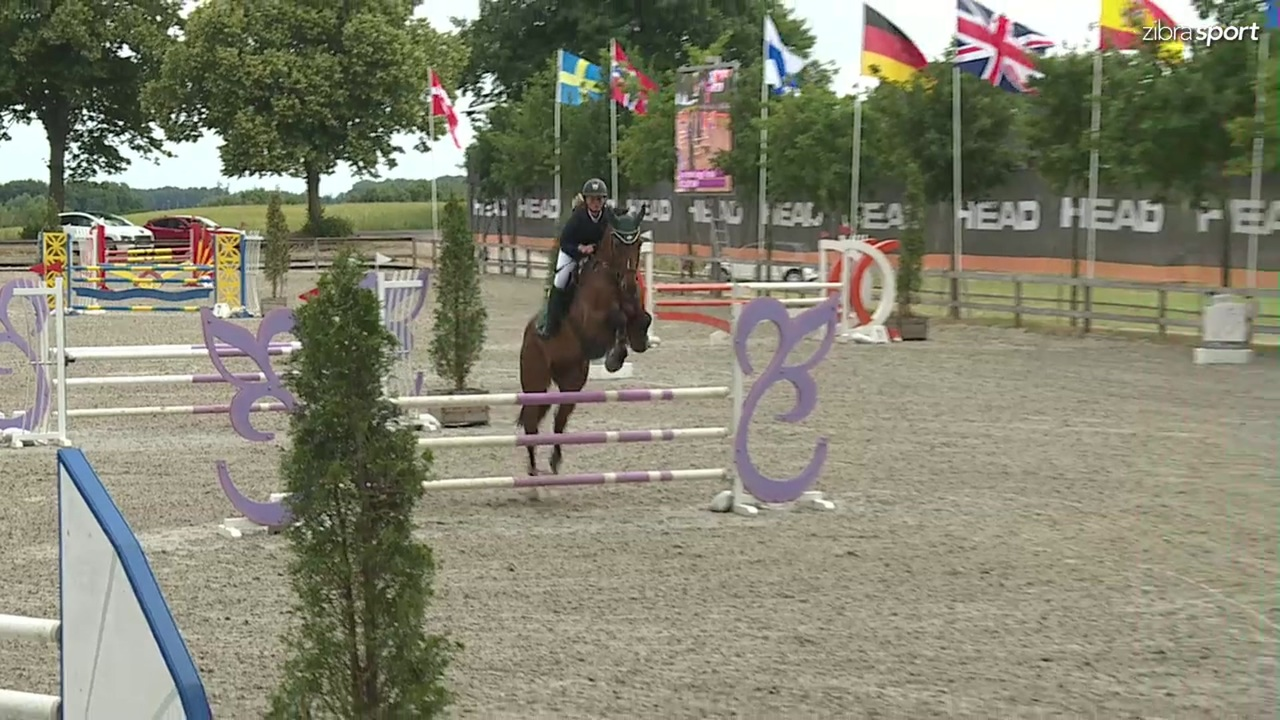 LB2** 110cm B0 at Riders Cup outdoor jumping event 2018