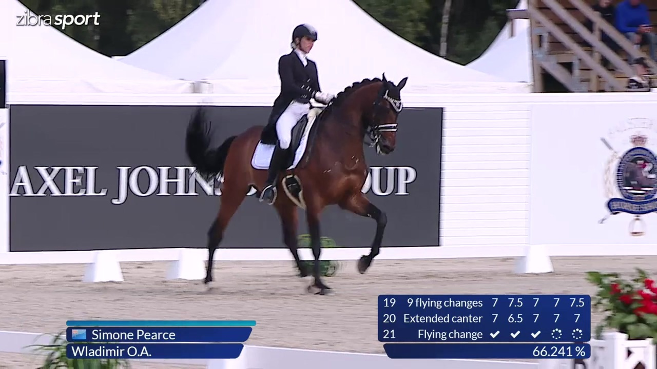 1st part of the Grand Prix at Falsterbo Horse Show 2017