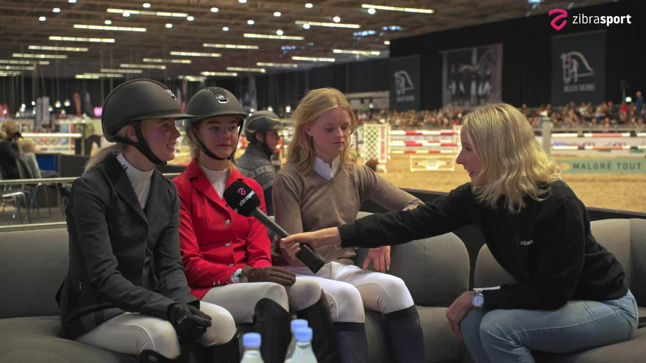 The talented riders and the future of pony jumping