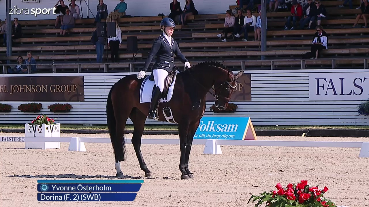 1st part of the 6 year semi final at Falsterbo Horse Show 2017
