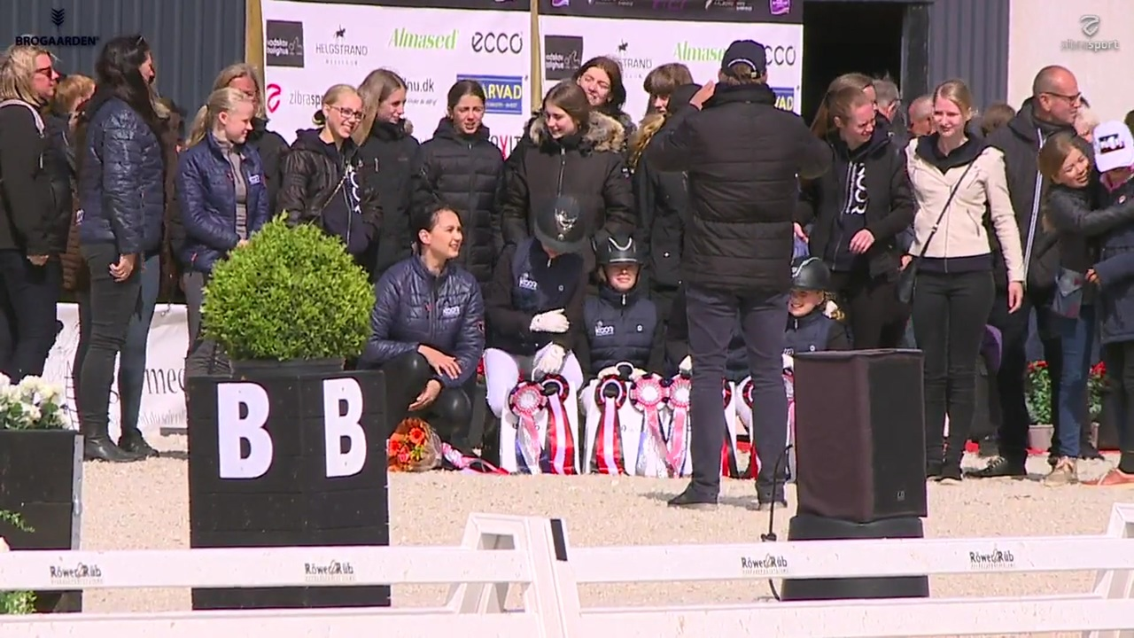 Elevskole Cup prize giving at Equitour Aalborg 2019