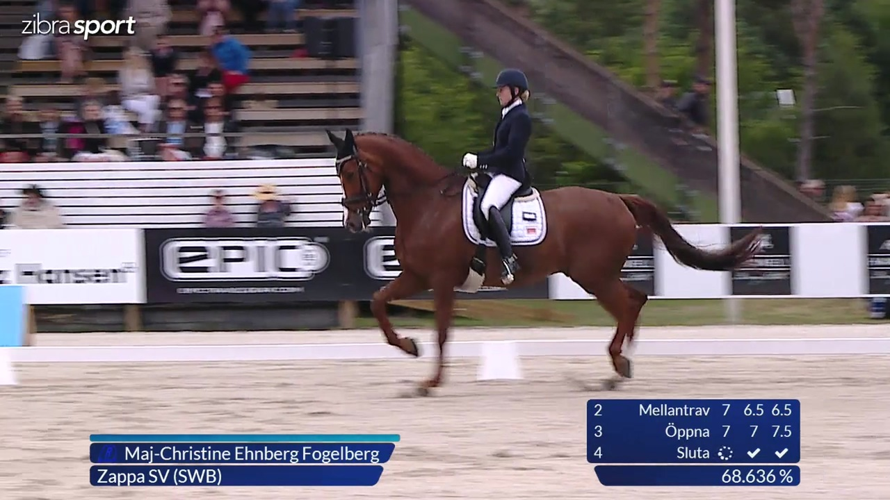4th part of the 6 year semi final at Falsterbo Horse Show 2017